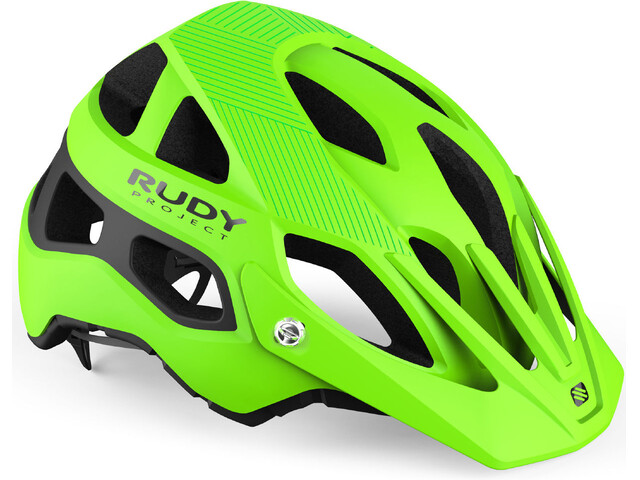 Rudy Project Protera Helmet Lime Fluo-Black Matte